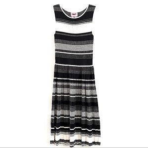 kate spade sleeveless striped sweater dress xs new